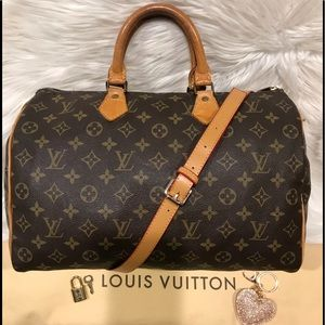 Authentic Louis Vuitton Speedy 35 Tote #5.4K